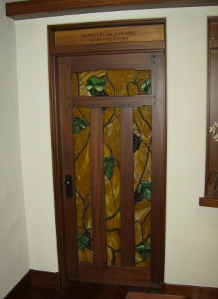 Wood Interior Doors With White Trim heart of oak workshop, authentic craftsman & mission style door