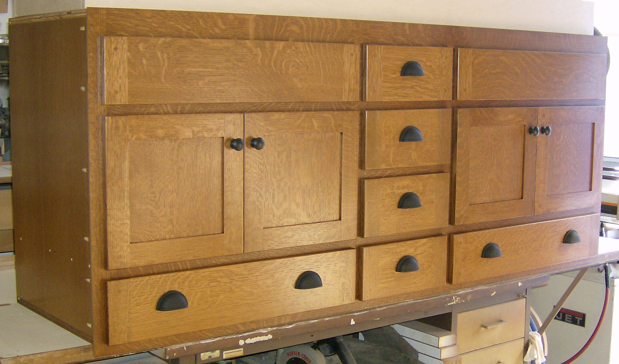 Heart Of Oak Workshop, Authentic Craftsman U0026 Mission Style Built In Cabinets