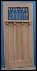 Classic Craftsman 1/3 Entry door