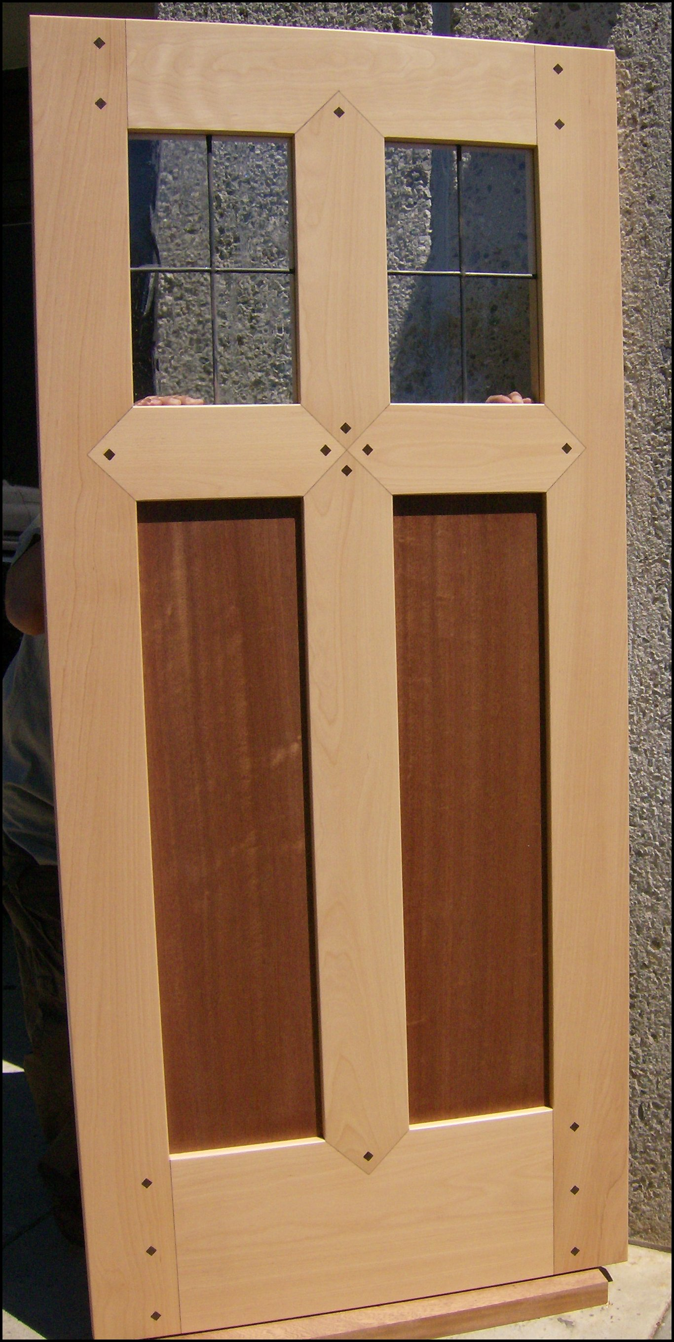 Heart Of Oak Workshop Authentic Craftsman Mission Style Doors