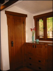 Craftsman single panel interior door