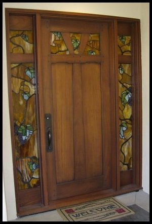 Heart of Oak Workshop, Authentic Craftsman & Mission style Door Designs