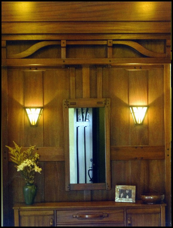 Heart Of Oak Workshop Authentic Craftsman Mission Style Interior
