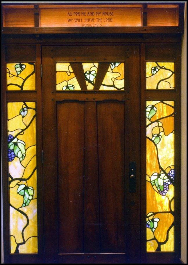 home interior glazing heart of oak workshop authentic craftsman mission style door