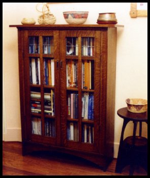craftsman bookcase style plans free mission
