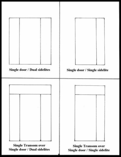 Left  3-6 x 6-8 Classic Craftsman 3 lite over 3 panel entry system with full lite sidelite. Sipo Mahogany with handcrafted leaded glass designed ...  sc 1 st  Heart of Oak Workshop & Heart of Oak Workshop Authentic Craftsman u0026 Mission style Door Designs
