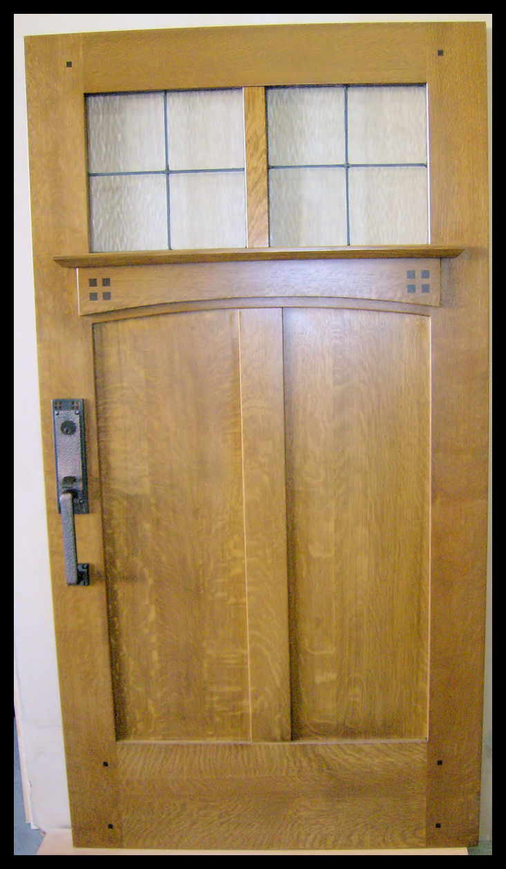 Heart of Oak Workshop, Authentic Craftsman & Mission style Door ...