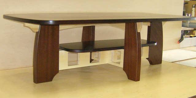Limbert inspired coffee table