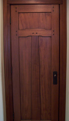 Heart Of Oak Workshop Authentic Craftsman Mission Style Door Designs