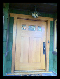 1911 Bungalow replicated replacement door