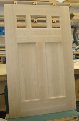 Replica replacement door for 1908 Bungalow